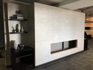 Tile, Horizontal Fireplace