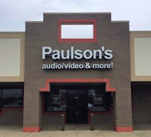 Paulson's Audio & Video Storefront