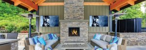 Outdoor living, Outdoor televisions