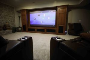 Home Theater, Media Room, SI, Sony, Control4