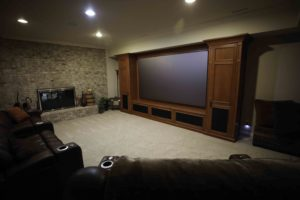 Home Theater, Media Room, SI, Sony