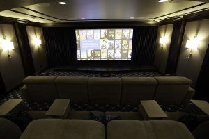 Screen, seating, Theater