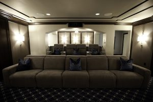 Dolby Atmos, Acoustic panels, seating